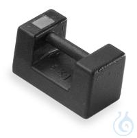 M2 5 kg Prüfgewicht, Block Eco, Gusseisen lackiert Gewicht 356-76,...