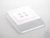Arbeitsschutzhaube über Tastatur und Gehäuse, für KERN 440 (Ø 81 mm)...