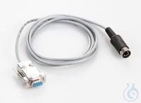 Schnittstellenkabel für RS 232 9-pol., Länge ca. 1,5 m, für Waage Typ EG-N,...