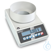 Precision balance, Max 420 g; d=0,001 g Thanks to the many typical laboratory...