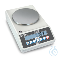 Precision balance Max 2400 g: d=0,01 g Thanks to the many typical laboratory...