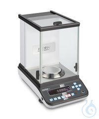 Analytical balance Max 120 g: e=0,001 g: d=0,0001 g This new generation of...