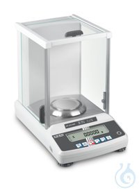 Analytical balance, Max 320 g; e=0,001 g; d=0,0001 g Automatic internal...