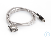 Schnittstellenkabel für RS-232 ca. 1.5 m 9-pol., Länge ca. 1,5 m, für Waagen...