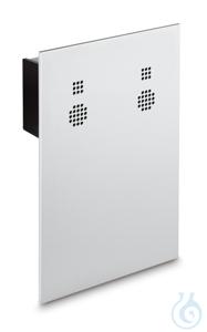 Windschutzrückwand mit integriertem Ionisator zum Neutralisieren...