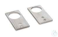 Fußplatten-Paar, SUS304 Fußplatten-Paar zur Fixierung der Wägebrücke am...