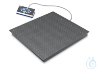 Floor scale, Max 600 kg; 1500 kg; d=0,2 kg; 0,5 kg Weighing bridge: out of...