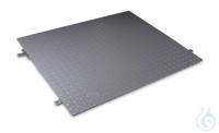 Auffahrrampe, Stahl, pulverbeschichtet für Modelle mit Wägeplattengröße B×T×H...