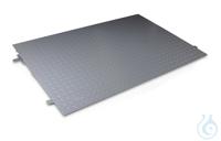Auffahr-Rampe 1500x1000x108 mm, Stahl, pulverbeschichtet Auffahrrampe, Stahl,...