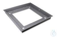 Grubenrahmen 1088x1088x110 mm, Stahl, pulverbeschichtet Stabiler...