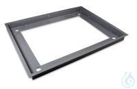 Stabiler Grubenrahmen, Stahl, pulverbeschichtet für Modelle mit...