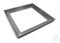 Grubenrahmen 1588x1588x110 mm, Stahl, pulverbeschichtet Stabiler...