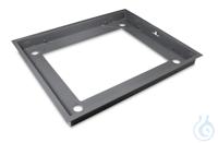 Grubenrahmen 1338x1088x110 mm, Stahl, pulverbeschichtet; für BID 1T-4EM...
