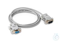 Schnittstellenkabel für RS-232 9-pol., Länge ca. 1,5 m, für Waagen Typ...