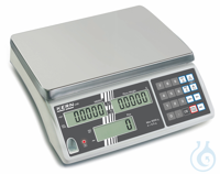 Counting balance, Max 30000 g; e=10 g; d=10 g Precise counting: The automatic reference weight...