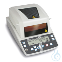 Moisture analyzer, 1 mg ; 60 g Tip: Suitable for samples with low moisture...