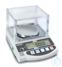 Precision balance with type approval, class II, 0,001 g ; 620 g KERN EG-N:...
