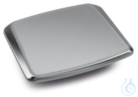 Weighing plate 180x195 mm, Stainless steel Dimensions weighing surface W×D...