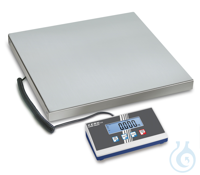 Platform scale, 0,1 kg ; 300 kg Weighing plate stainless steel , painted...