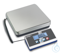 Platform scale, 10 g ; 35 kg Weighing plate stainless steel , painted steel...