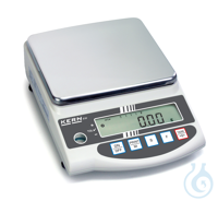 Precision balance, 0,01 g ; 2200 g KERN EG-N: Internal adjustment by rotary...