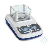 Precision balance, 0,001 g ; 300 g Easy to use: All primary functions have...