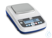 Precision balance, Max 6000 g; e=1 g; d=0,1 g Easy to use: All primary...