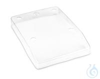 Arbeitsschutzhaube über Tastatur und Gehäuse, für FOB Waagen (215x215mm)...