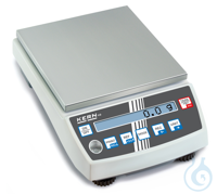 Precision balance Max 6500 g: d=0,1 g Thanks to the many typical laboratory...