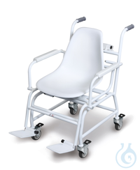 Chair scale with type approval, 100 g ; 300 kg Verification class III (verification is optional)...