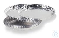 Probenschale aus Aluminium (80 Stück ) Abmessungen Ø XX mmGebinde zu XX Stück