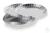 Sample plates aluminium (80 pieces ) Abmessungen Ø XX mm Gebinde zu XX Stück
