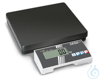 Personal scale, 100 g ; 300 kg Sturdy steel weighing plate with a non-slip and wear-resistant...