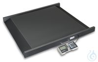 Wheelchair scale with type approval, 100 g ; 300 kg Verification class III (verification is...