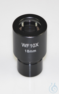 Eyepiece WF 10 x / Ø 18mm, with anti-fungus Okular (Ø XX mm): WF XX × / Ø XX mm
