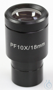 Eyepiece WF 10 x / Ø 18mm, with reticule 0,1 mm, anti-fungus Okular (Ø XX...