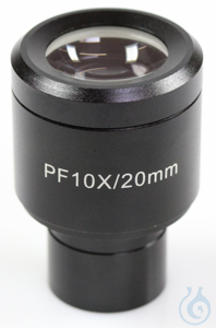 Eyepiece WF 10 x / Ø 20mm, with reticule 0,1 mm, anti-fungus Okular (Ø XX...