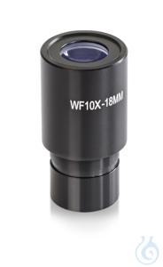 Okular WF (Widefield) 10 x / Ø 18mm, mit Zeiger, Anti-Fungus Okular OBB-A1561