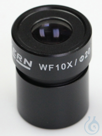 Eyepiece WF 10 x / Ø 20mm, with anti-fungus Eyepiece WF 10 x / Ø 20mm with...