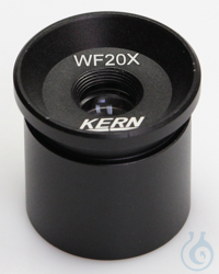 Eyepiece WF 20 x / Ø 10mm, with anti-fungus Eyepiece WF 20 x / Ø 10mm with...