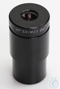 Eyepiece HWF 5 x / Ø 23,2mm, with anti-fungus, high eye point Eyepiece HWF 5...