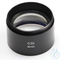Vorsatz-Objektiv 0,5x    Zubehör für Greenough-Stereomikroskope Lab-Line OZL...