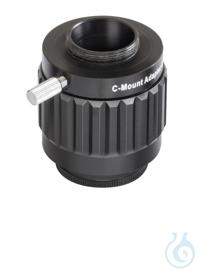 C-Mount Kamera-Adapter. 0,5x. für Mikroskop-Cam    Zubehör für...
