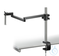 Stereomicroscope stand (Universal), Jointed arm; with clamp With our...
