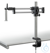 Stereomicroscope stand (Universal), Ball bearing double arm; with clamp With...