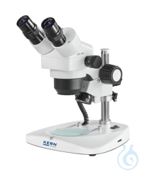Stereo zoom microscope Binocular, Greenough; 0,75-3,6x; HWF10x21,5; 0,35W LED The products in the...