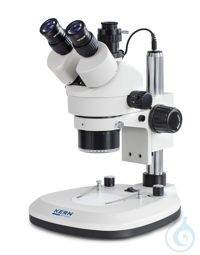 Stereo zoom microscope Trino (with ring illu.), Greenough; 0,7-4,5x; HWF10x20; 3 The products in...