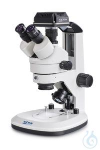 Stereo zoom microscope Trinocular (with handle), Greenough; 0,7-4,5x; HWF10x20;  The products in...