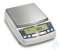 Precision balance with type approval, class II, 0,01 g ; 6,2 kg KERN PBJ:...