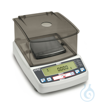 Precision balance with type approval, class II, 0,001 g ; 620 g